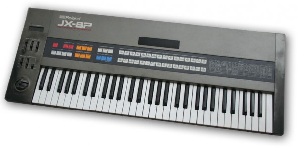 The Roland JX-8P Hybrid Synthesizer