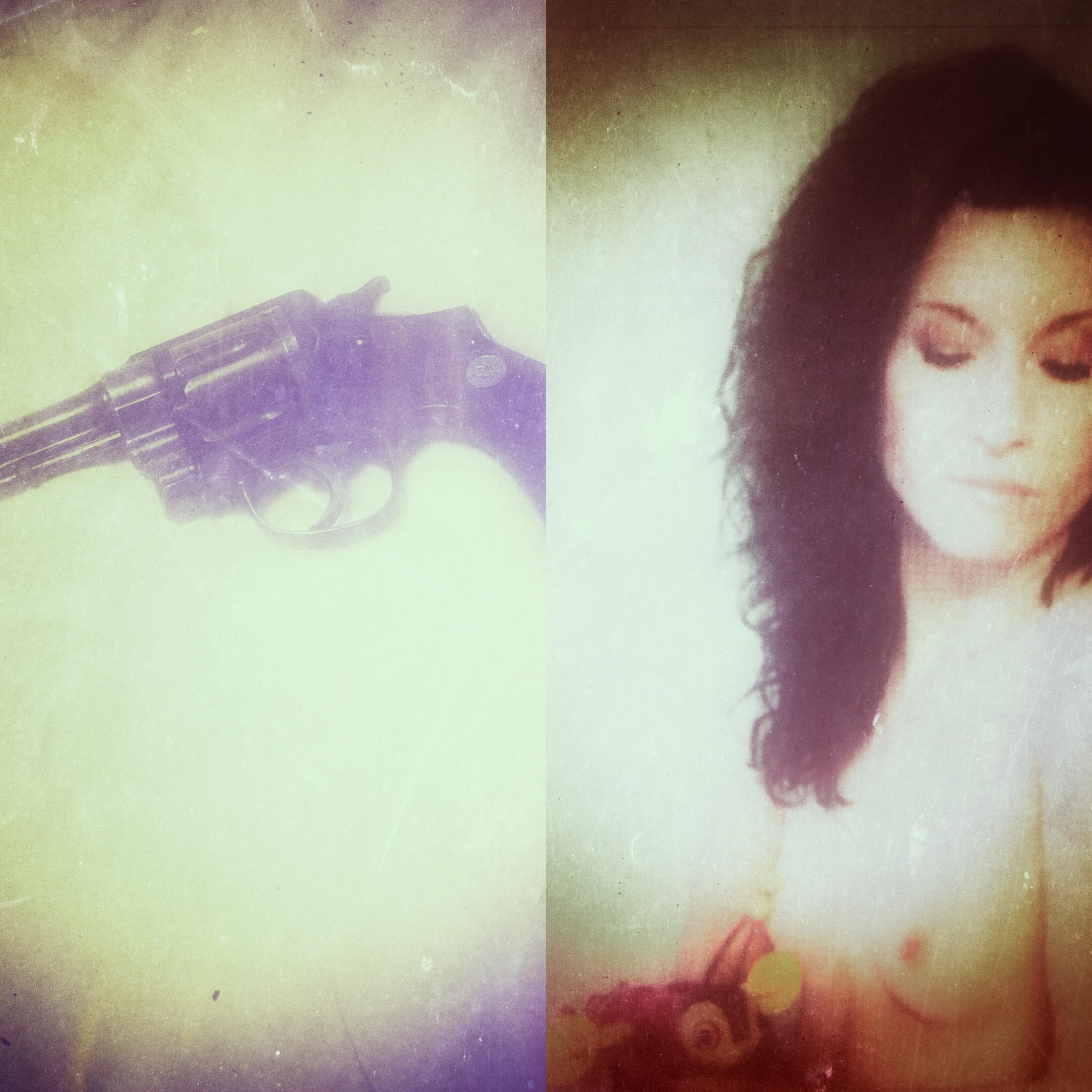 A girl, a gun, & a bee