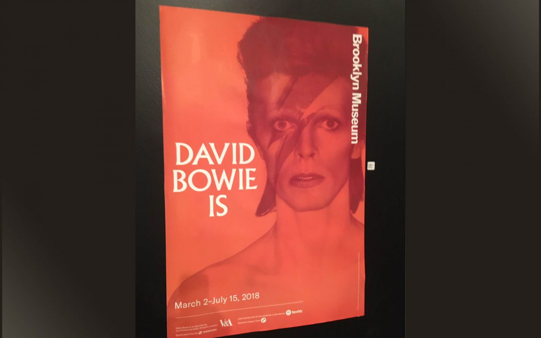 "{audioboo} The ""David Bowie Is"" Exhibition, Brooklyn Museum"