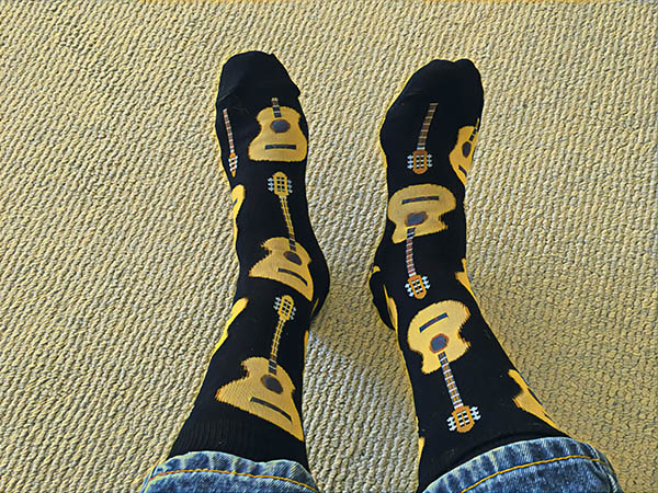 Guitar Socks & Literary Rogues