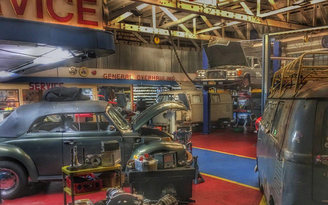 Night Work In A North Beach Auto Repair Shop