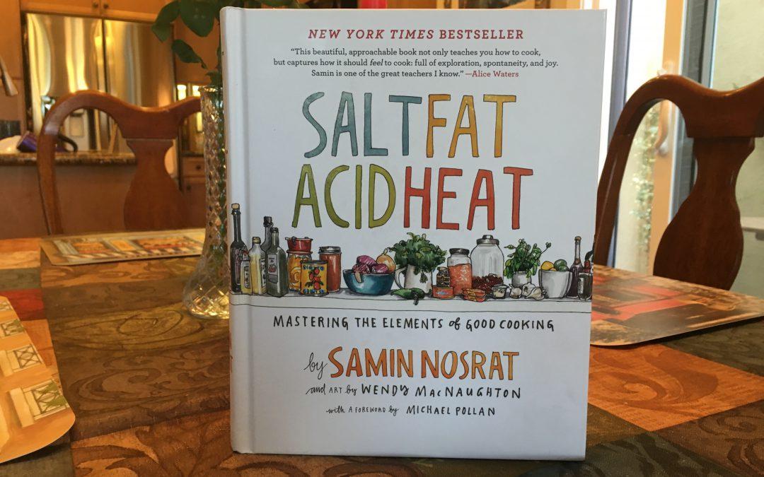 {audioboo} Salt Fat Acid Heat ~ The Book & The Netflix Series