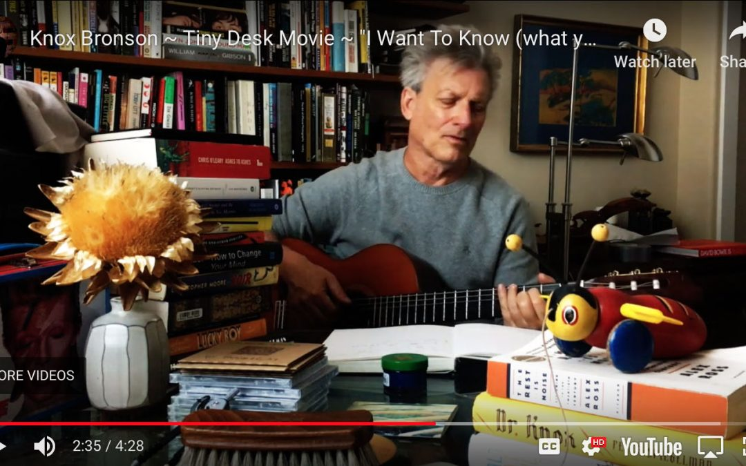 "{video} My NPR ""Tiny Desk"" Contest Entry"