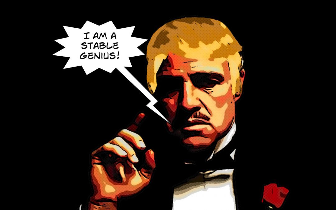 {podcast} The Godfather/Sopranos Mythology Destroyed By The Spray-Tan Shroom